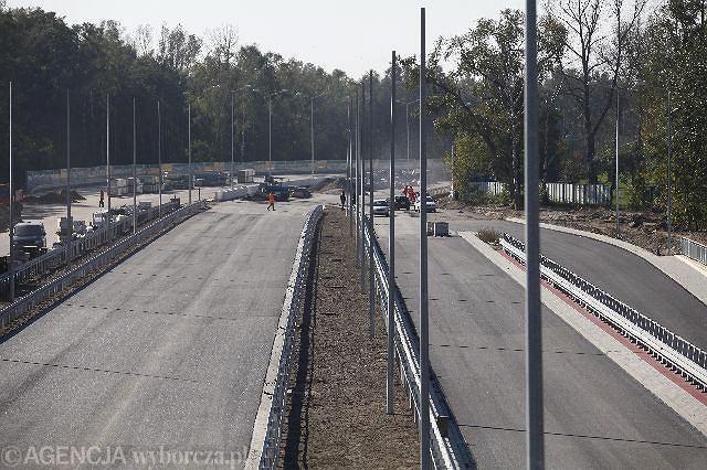 Budowa trasy ekspresowa S8 z Powązek do Konotopy,. Czerwiec 2010