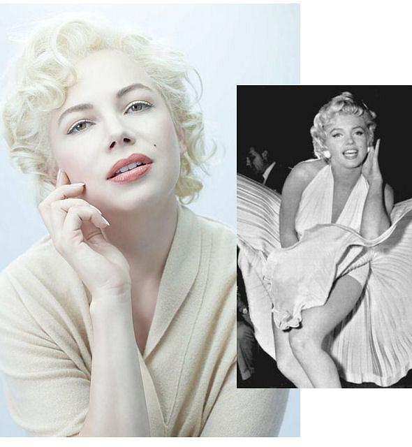 Michelle Williams w roli Marilyn Monroe