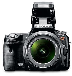 Aparat fotograficzny Sony SLT-A55V