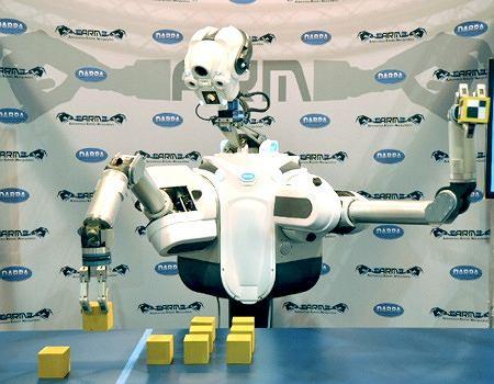 standardowy robot programu ARM DARPA