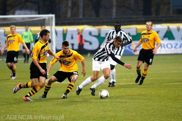 Katowice. GKS - Sandecja Nowy Sącz 2:3 (jesień 2010)