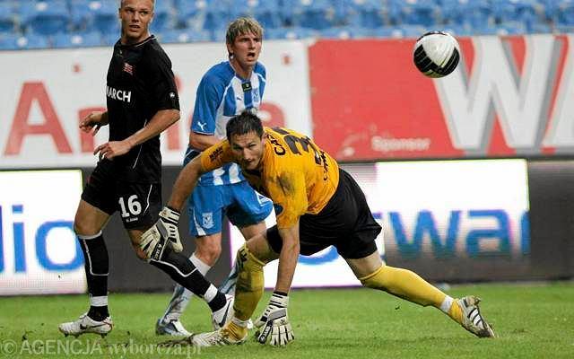 Lech Poznań - Cracovia 5:0. Jacek Kiełb