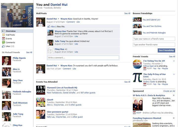 Facebook uruchamia Friendship pages