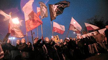 11.11.2009 Warszawa, manifestacja ONR