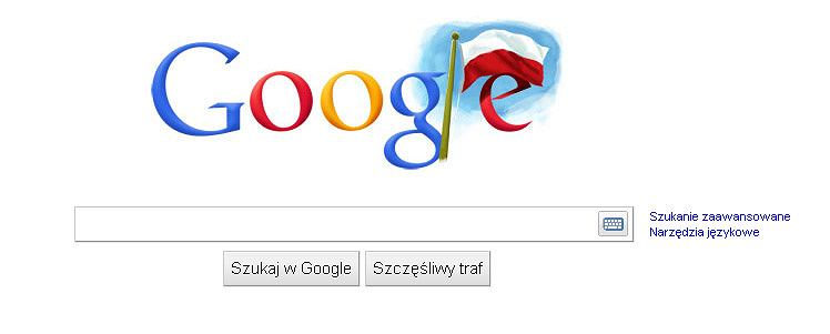 Niepodległe Google Doodle