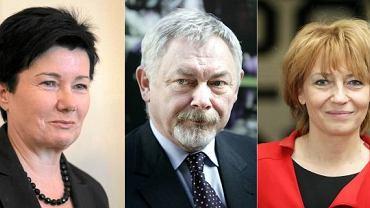 Kandydaci z największym poparciem w sondażu SMG/KRC dla Radia TOK FM: Hanna Gronkiewicz-Waltz, Jacek Majchrowski, Hanna Zdanowska