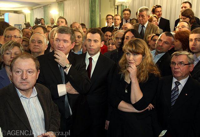 W sztabie wyborczym Wojciech Olejniczaka i SLD w Warszawie