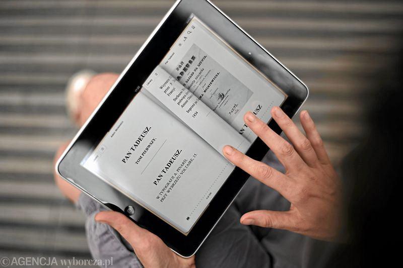Tablet firmy Apple