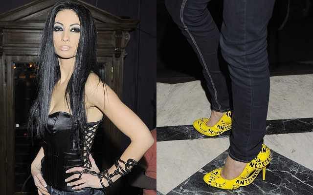 Na premierze beznadziejnego singla Pauli Marciniak w klubie Platinium pojawiła się całkiem nadziejna Jola Rutowicz. Była jedyną gwiazdą na imprezie. Zaskoczyła stylizacją. Zobaczcie jak wyglądała.