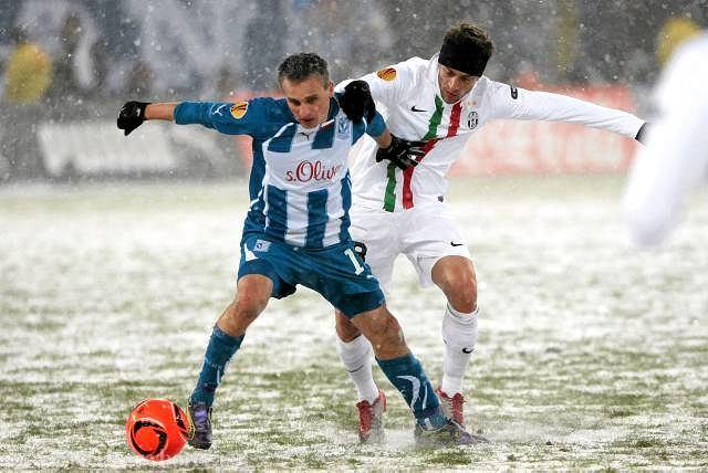 Sławomir Peszko i Claudio Marchisio