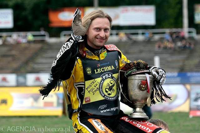 Adam Skórnicki w barwach PSŻ Poznań