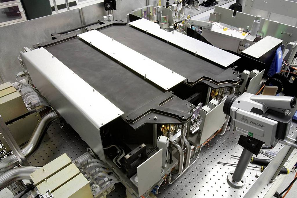 Działo laserowe firmy Northrop-Grumman.