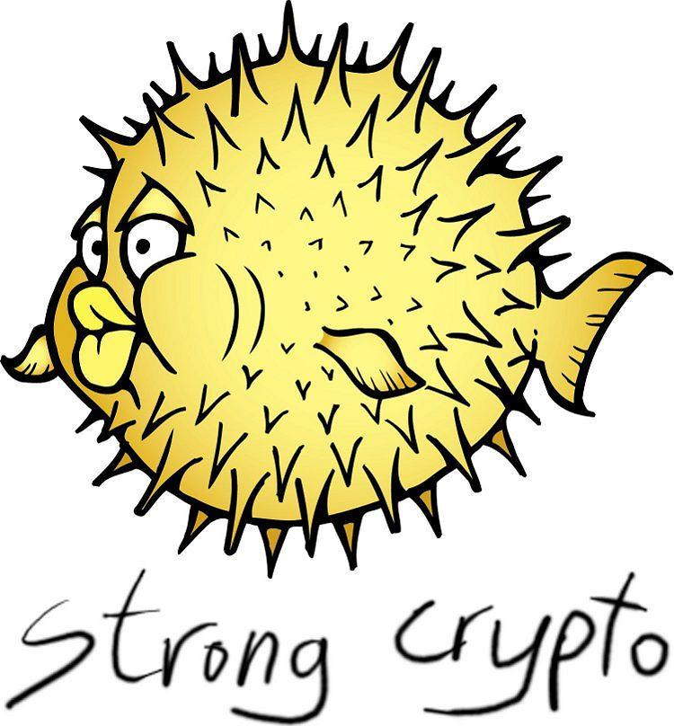 Logo OpenBSD z podpisem