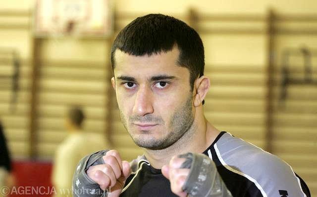 Mamed Khalidov, mistrz sportów walki.