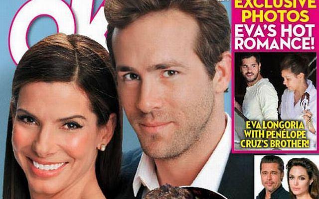 Sandra Bullock i Ryan Reynolds razem
