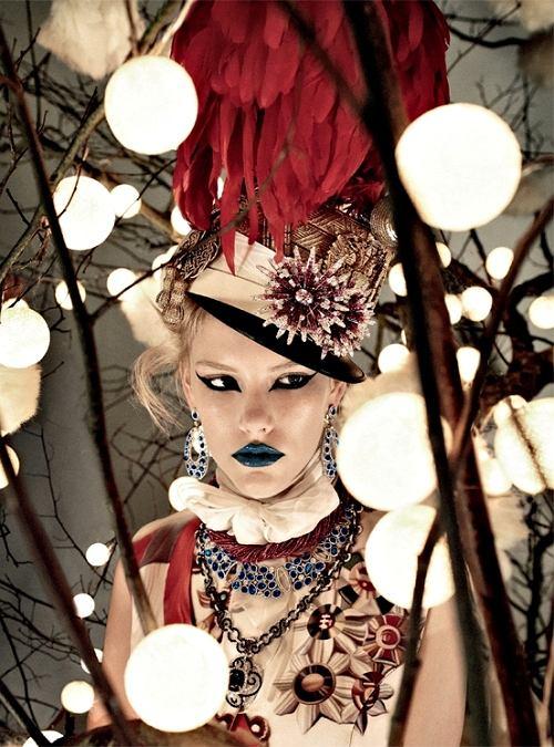 Ashley Smith w Italian Vogue