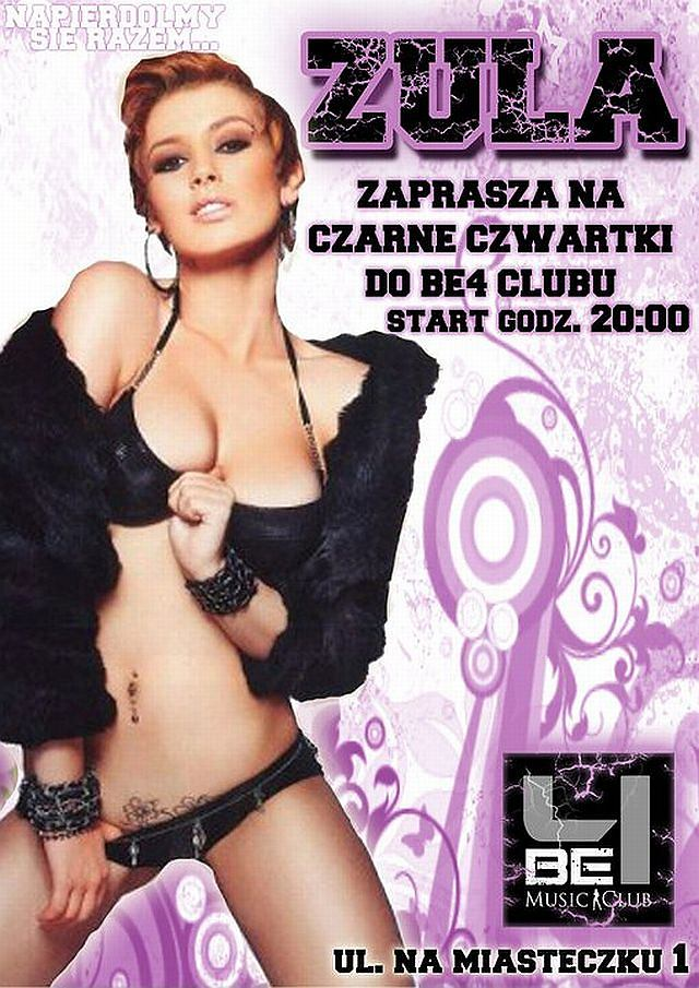 Zula Walkowiak reklamuje poznański klub