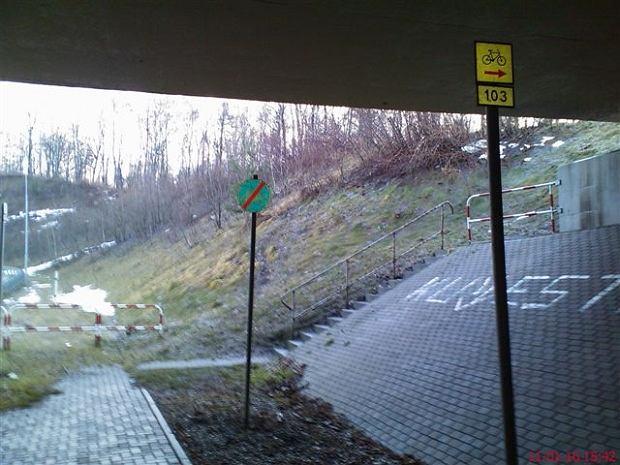 Ścieżka rowerowa w Katowicach