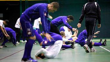 Tak wyglądał pierwszy trening Ruchu Chorzów w 2011 roku