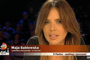Maja Sablewska w X-Factor