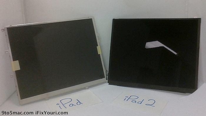 Czy to zdjęcie ekranu iPada 2?