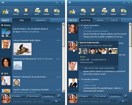 Aplikacja NK.pl na desktopy