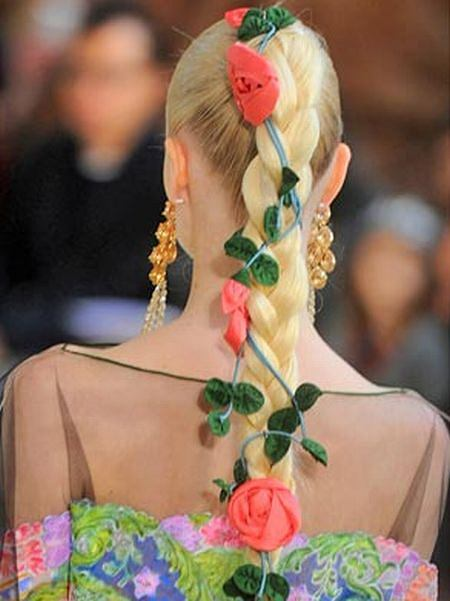 Spring was definitely in the air as Alexis Mabille, Paris Haute Couture Spring 2011 Fashion Week