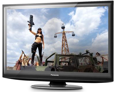 test telewizorów, telewizory lcd, Panasonic
