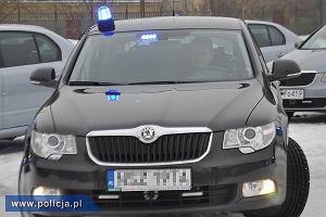Policyjne Alfy i Skody ruszają do akcji