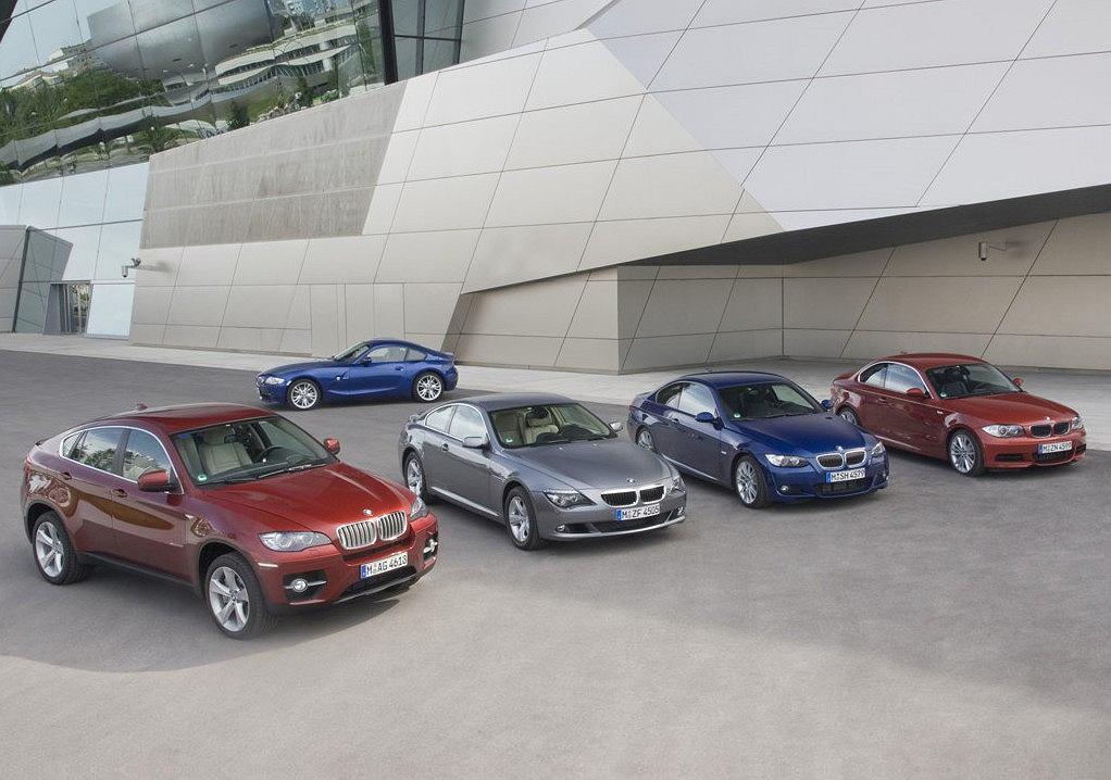 gama modeli coupe BMW