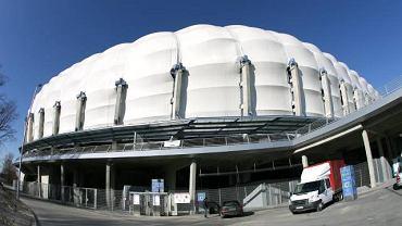 Elewacja Stadionu Miejskiego w Poznaniu
