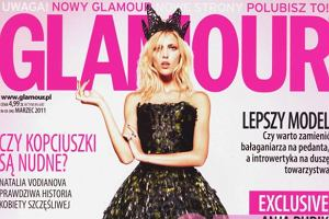 Anja Rubik w Glamour
