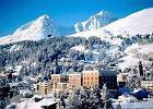 Szwajcaria. Luksusowy śnieg w Sankt Moritz