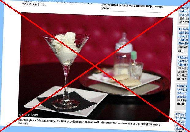 Lody z ludzkiego mleka zakazane