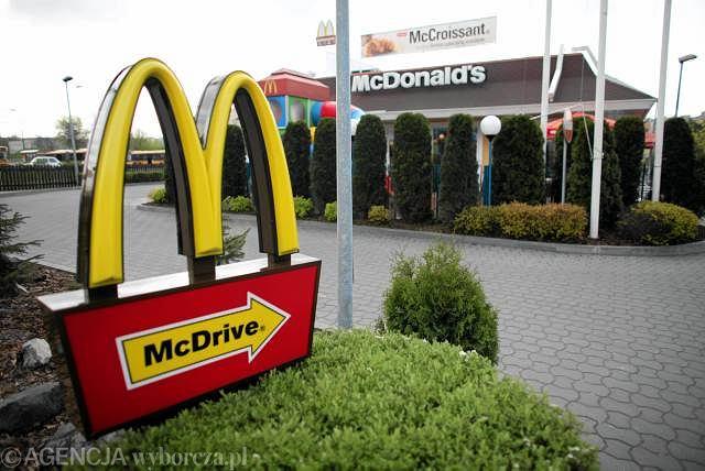 Restauracja McDonald's w Warszawie