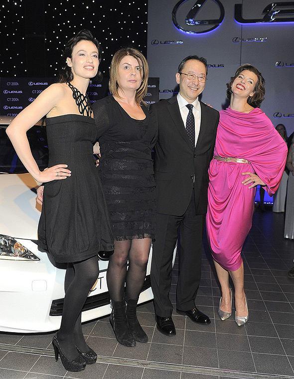 Gwiazdy na imprezie Lexus Fashion Night 6 - Magdalena Różdżka i Milla Jovovich