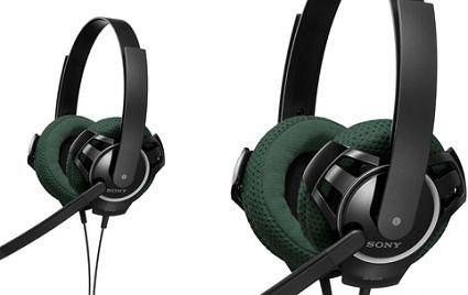 Zestawy słuchawkowe i mikrofony Sony