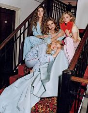 Natalia Vodianova Vogue US Maj 2011