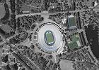 Stadion Śląski: Niebieskie krzesełka, żółte przejścia między sektorami