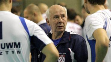 Andrzej Grygołowicz, trener drugoligowego AZS UMW II Olsztyn