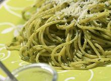 Spaghetti z sosem z pietruszki - ugotuj