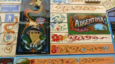 Ulica imienia Carlosa Gardela
