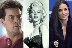 Charlie Sheen, Marylin Monroe, Demi Moore.