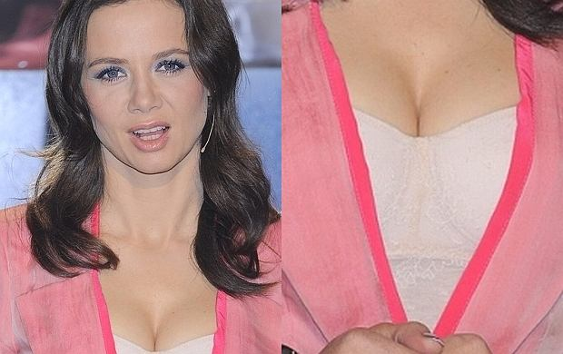 W ostatnim odcinku programu ''You Can Dance'' jedną z głównych gwiazd wieczoru była Kinga Rusin i jej piersi.