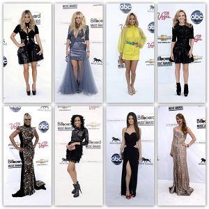 Gwiazdy na Billboard Music Awards
