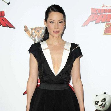 42-letnia Lucy Liu na premierze 'Kung Fu Panda 2'