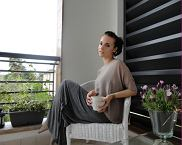 maxi dress DIY, top Subdued, rajstopy Calzedonia, bransoletka ClubCouture
