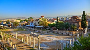 Grecja zabytki - Plaka, Ateny / Shutterstock