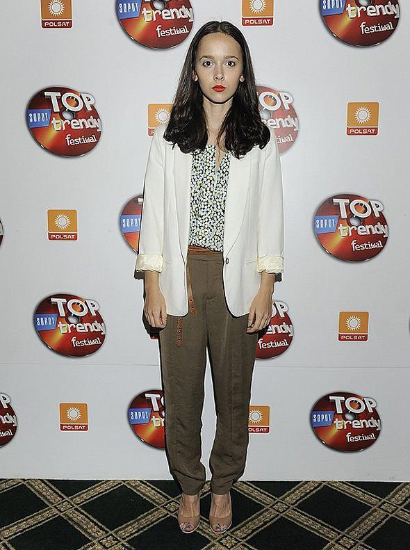 Monika Brodka na konferencji Top Trendy 2011