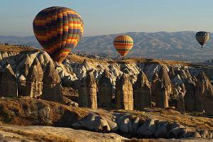 Turcja. Kapadocja - cuda natury